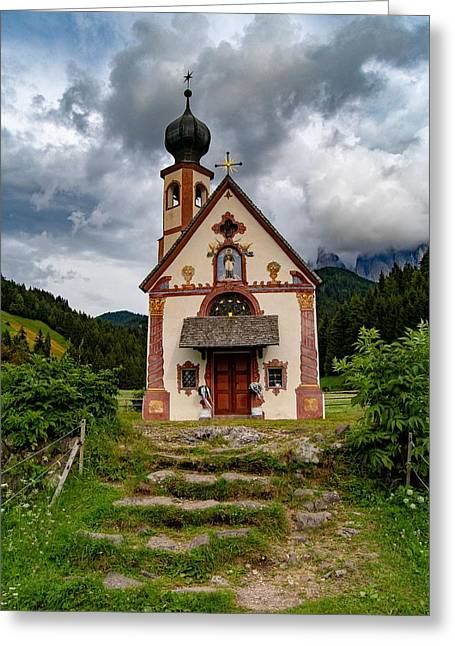Church Of Saint Johann  Greeting Card