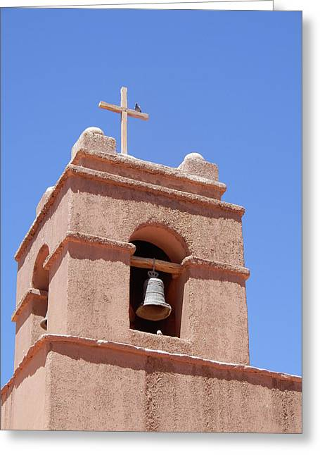 Church Of Socaire Greeting Card