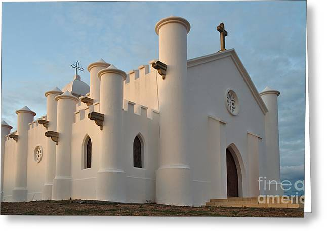 Church Of Sao Domingos Mine In Alentejo Greeting Card