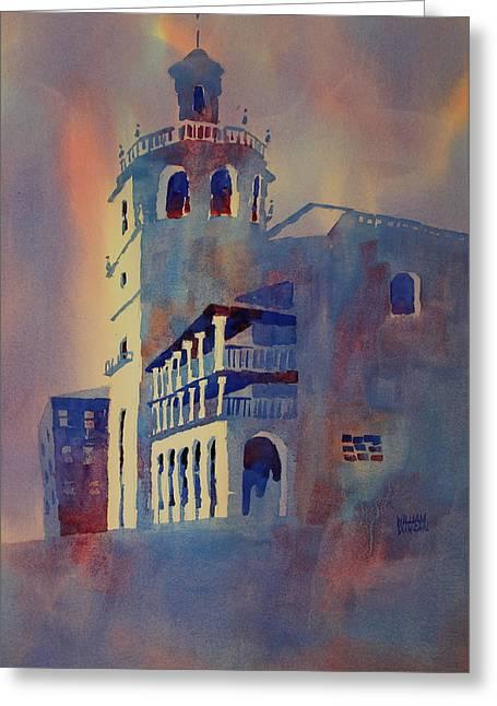 Church Of St. Mary Ronda Spain Greeting Card