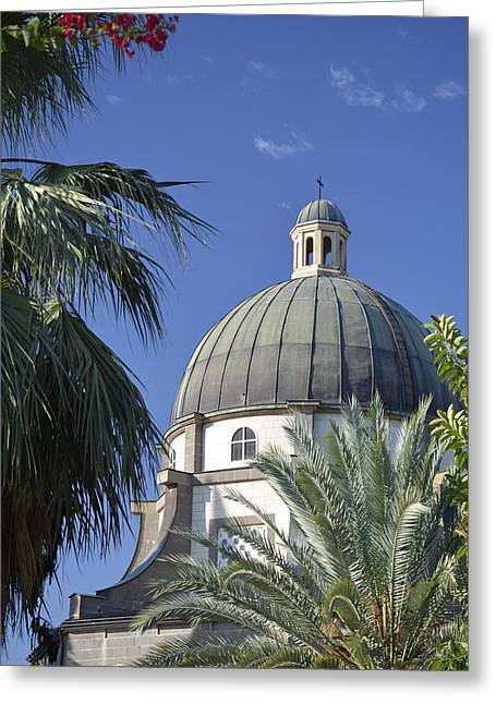 Church Of The Beatitudes Greeting Card by Bruce Gourley