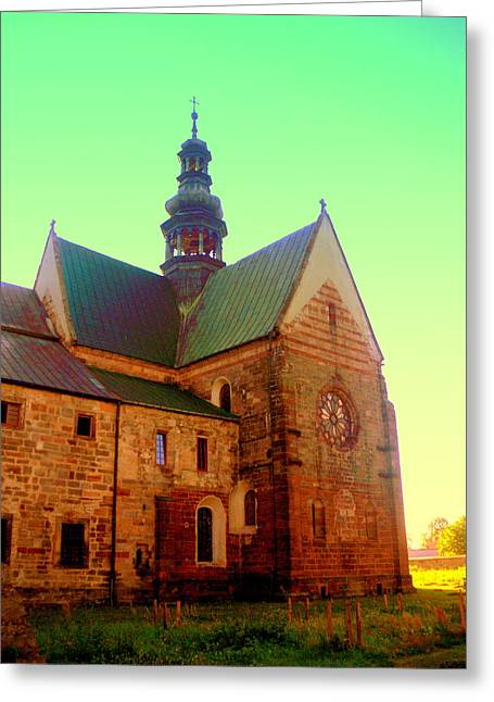 Church Of The Blessed Virgin Mary And St. Florian In The Wachock Greeting Card