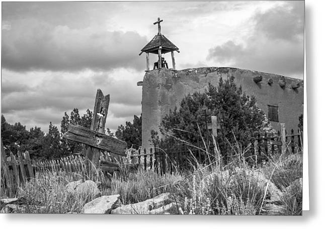 Church Of The Cross Greeting Card by Steven Bateson