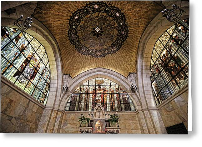 Church Of The Flagellation Greeting Card by Stephen Stookey