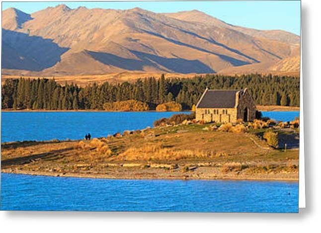 Church Of The Good Sheperd Greeting Card by Bill  Robinson