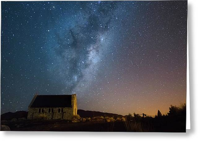 Church Of The Good Shepherd 2 Greeting Card by Martin Capek