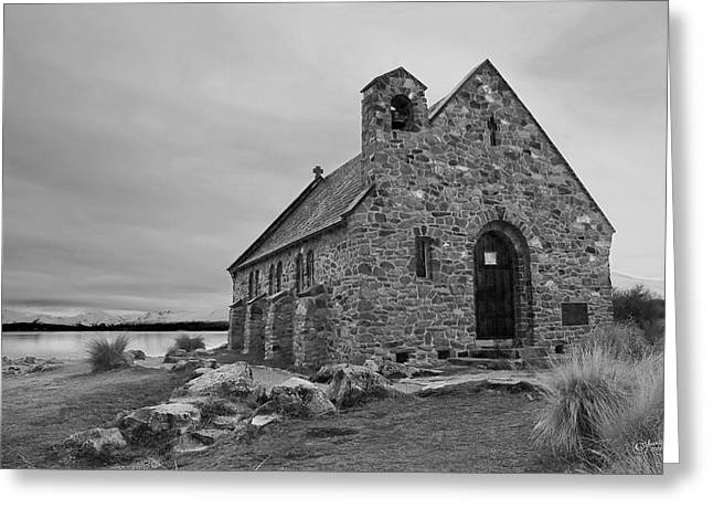 Church Of The Good Shepherd Greeting Card by Andrea Cadwallader