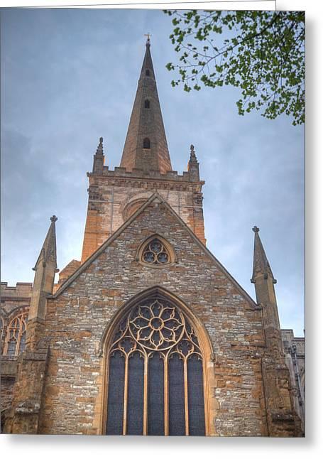 Church Of The Holy Trinity Stratford Upon Avon 1 Greeting Card by Douglas Barnett