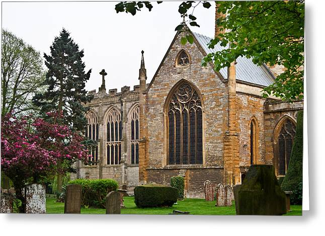 Church Of The Holy Trinity Stratford Upon Avon 3 Greeting Card by Douglas Barnett