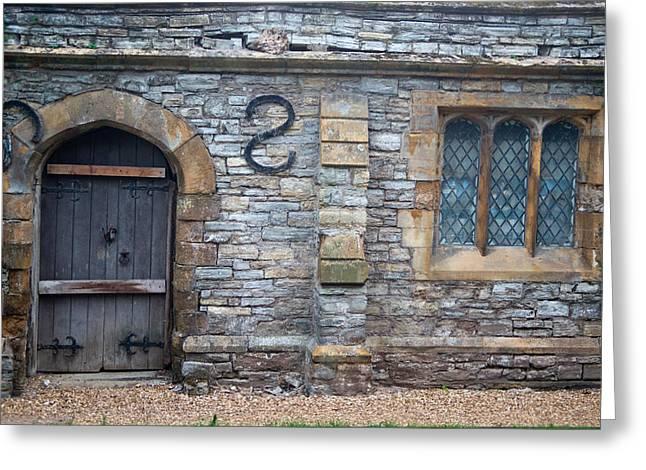 Church Of The Holy Trinity Stratford Upon Avon 5 Greeting Card by Douglas Barnett