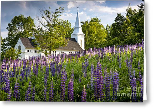Church On Sugar Hill Greeting Card