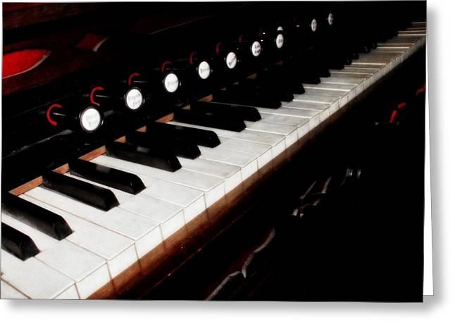 Church Organ Greeting Card by Scott Hovind