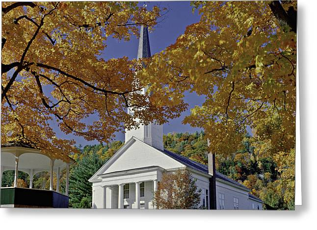 Church, Sharon Vermont Greeting Card