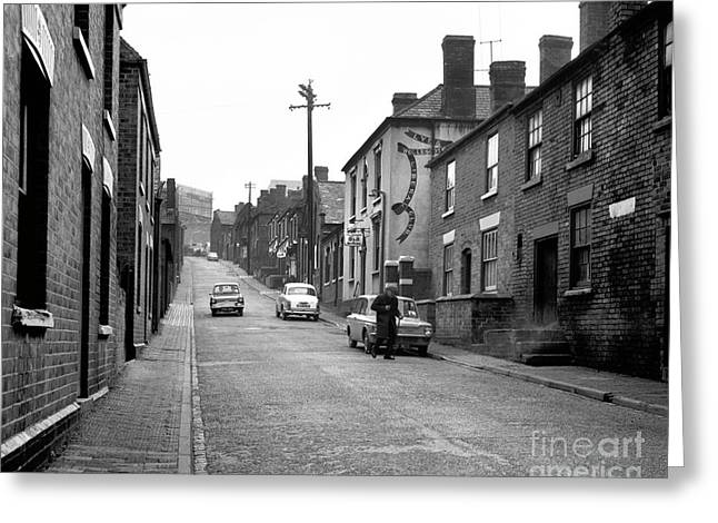 Church Street, Lye, Stourbridge    Ref-112 Greeting Card