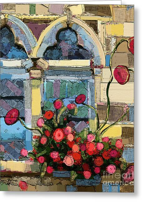 Church Window Greeting Card