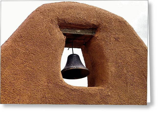 Churchbell At Old Town Greeting Card