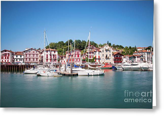 Ciboure Greeting Card by Delphimages Photo Creations