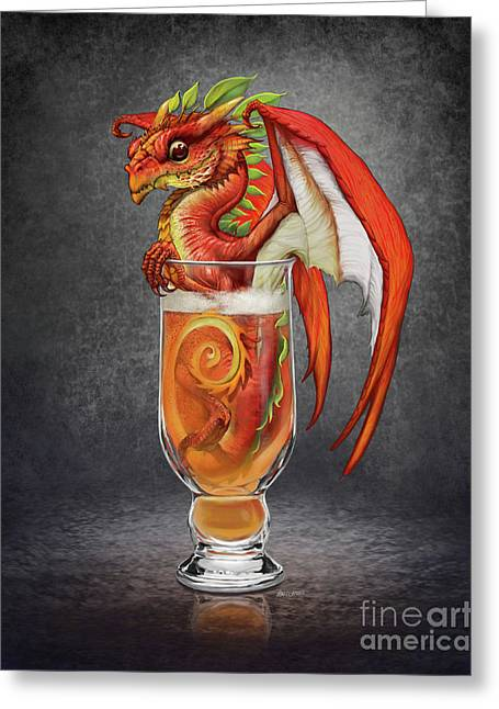 Cider Dragon Greeting Card