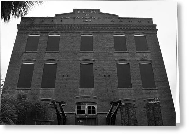 Cigar Factory Tampa Florida Greeting Card