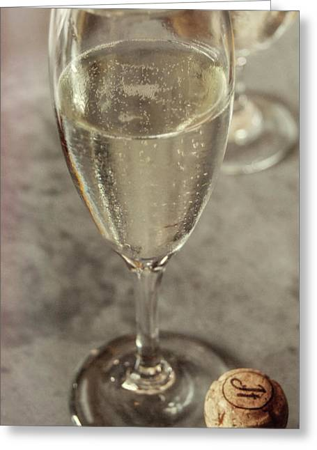Cin Cin Champagne Therapy Greeting Card by JAMART Photography