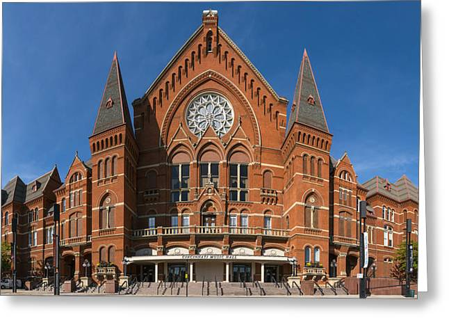 Cincinnati Music Hall Greeting Card