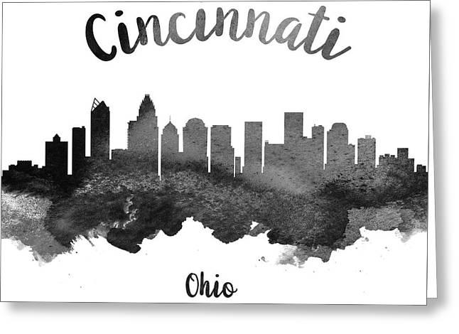 Cincinnati Ohio Skyline 18 Greeting Card