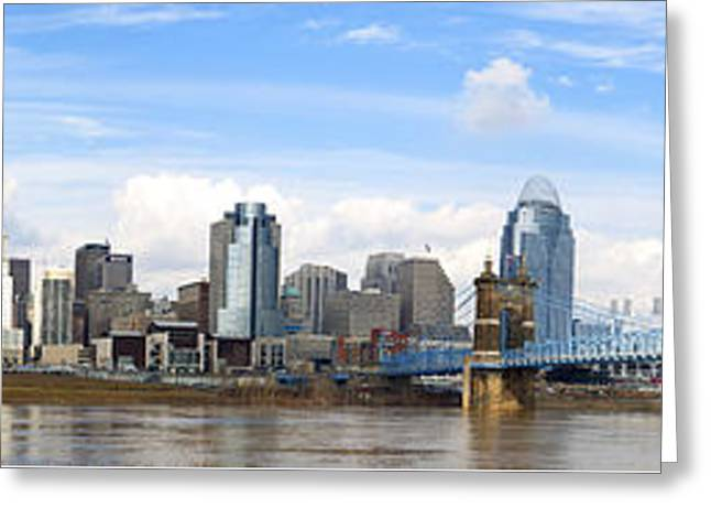 Cincinnati Panorama Greeting Card