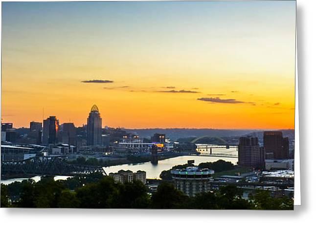 Cincinnati Sunrise II Greeting Card