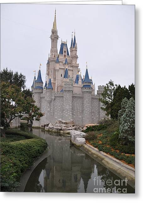 Cinderellas Castle Greeting Card by John Black