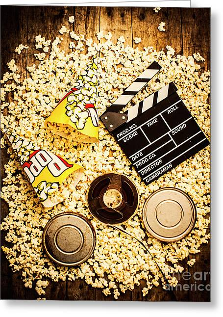 Cinema Of Entertainment Greeting Card