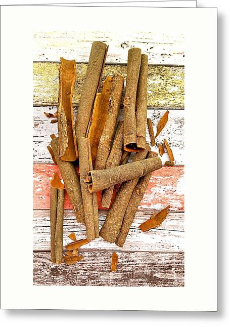 Cinnamon Bark Greeting Card