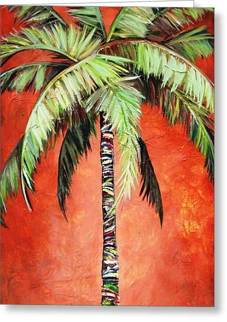 Cinnamon Palm Greeting Card