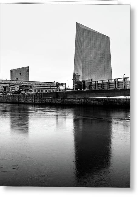 Cira Centre - Philadelphia Urban Photography Greeting Card