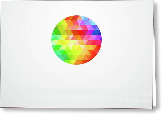 Circle Spectrum Greeting Card
