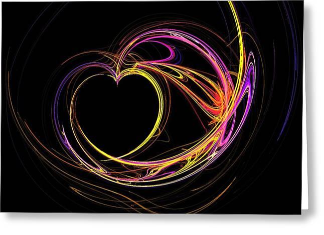 Circles Of Love Greeting Card