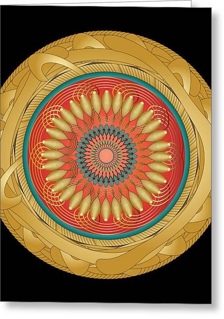 Circularity No 1566 Greeting Card