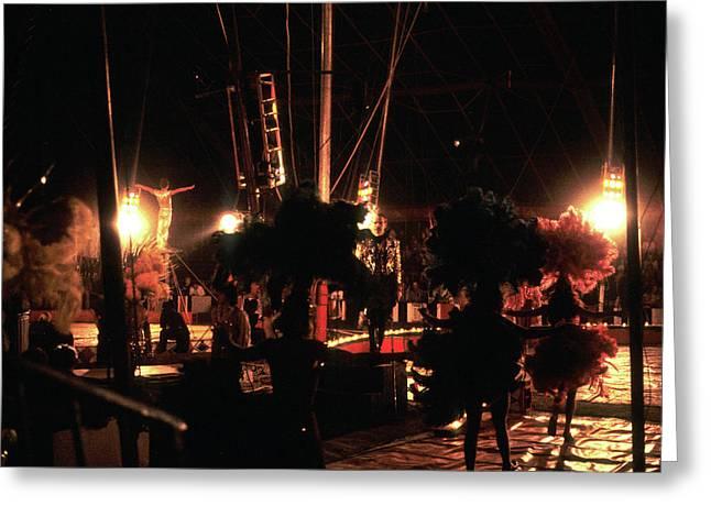 Circus Image No4 1980s Greeting Card