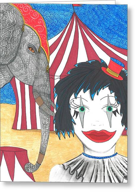 Circus Life Greeting Card