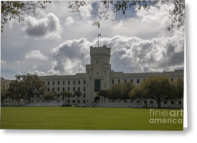 Citadel Military College Greeting Card