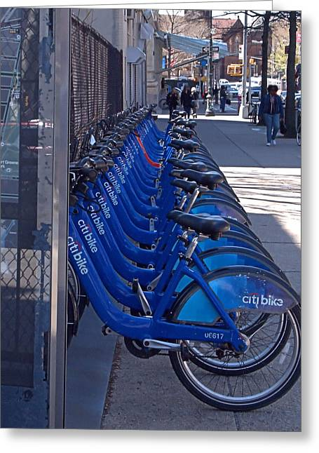 Citibike Greeting Card