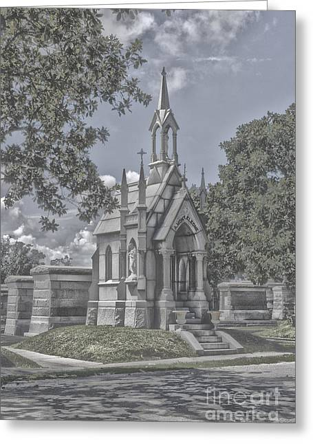 Cities Of The Dead Greeting Card by Janice Spivey