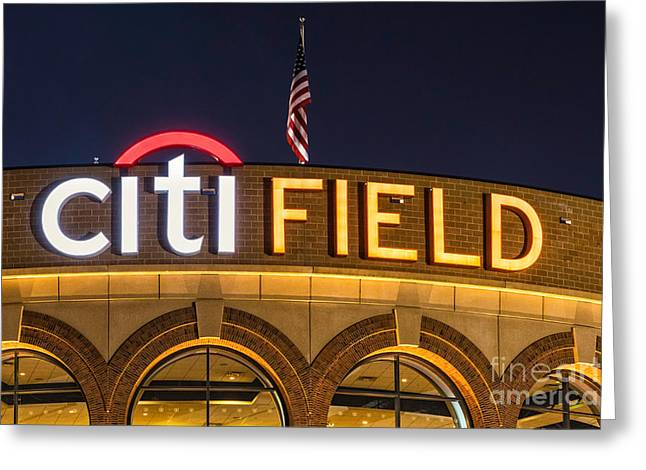 Citifield Sign Greeting Card