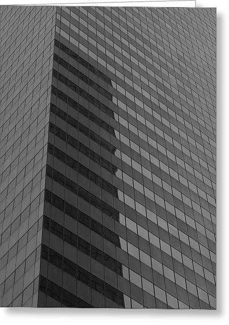 Citigroup Facade I Greeting Card by Clarence Holmes