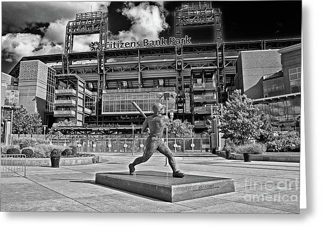 Citizens Bank Park Greeting Card
