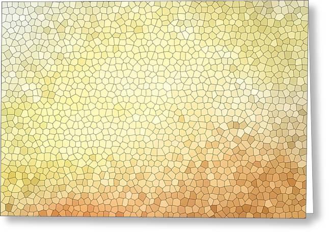 Citrus Mosaic Greeting Card by Cortney Herron