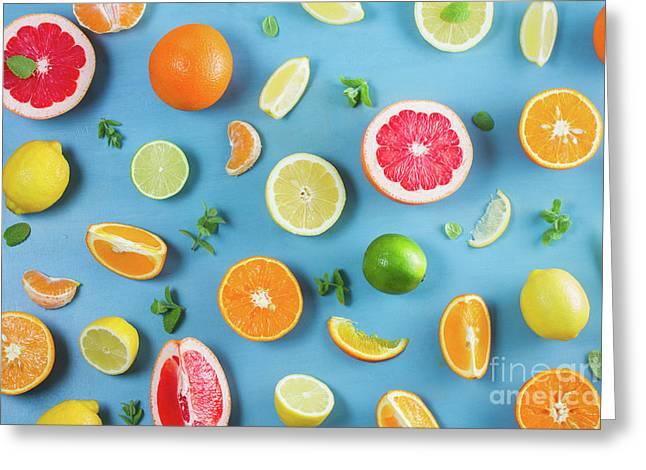Citrus Summer Greeting Card