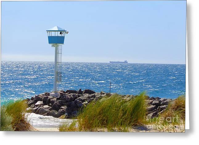 City Beach, Western Australia Greeting Card