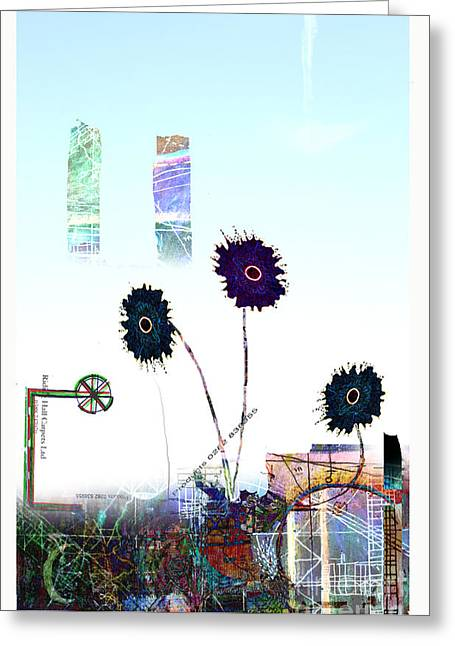 City Blooms Greeting Card by Andy  Mercer