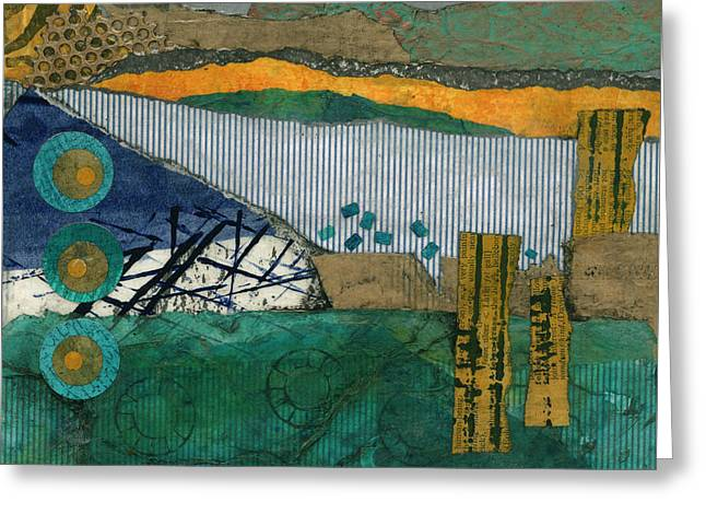 City By The Bay Greeting Card by Cheryl Goodberg