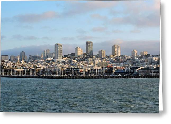 City By The Bay Greeting Card by Connor Beekman